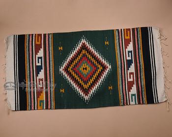 Southwestern Zapotec Indian Rug 30x60 (159)