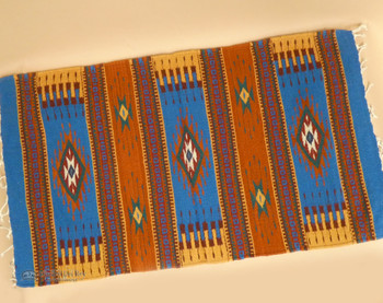 Extra Fine Zapotec Indian Wool Rug