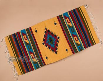"""Oaxaca Zapotec Floor Rug 23""""x39"""" (r25)"""