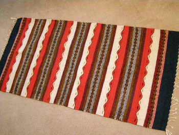 "Mexican Rugs Zapotec 30""x60"" (49)"