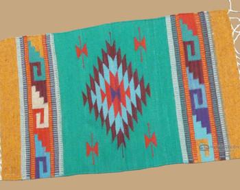 "Southwest Zapotec Rug Wall Hanging 23""x39"""