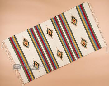 Southwestern Zapotec Indian Rug 30x60 (73)