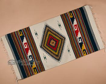 Southwestern Zapotec Indian Rug 30x60 (74)