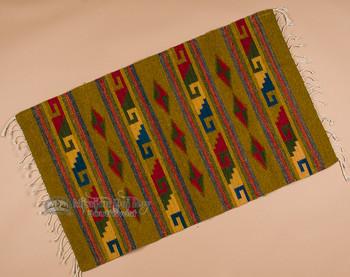 "Southwestern Zapotec Rug 23""x39"" (86)"