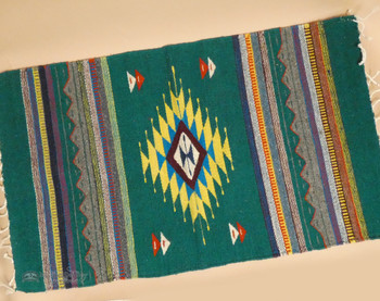 "Southwest Zapotec Area Rug 23""x39"""
