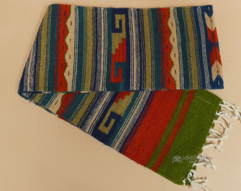 Rustic Style Zapotec Indian Table Runner