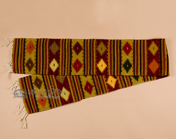 Rustic Style Zapotec Table Runner