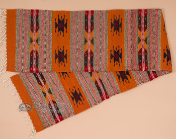 Zapotec Indian Wool Table Runner