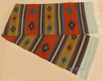 Zapotec Wool Indian Style Table Runner