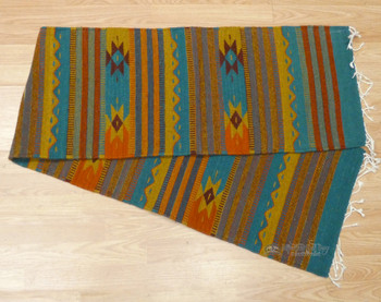 Handwoven Zapotec Indian Table Runner