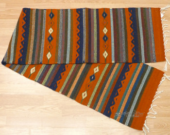 Mexican Indian Wool Table Runner