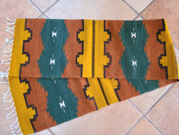 Hand Woven Zapotec Indian Table Runner