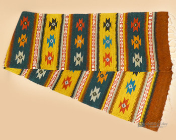 Woven Wool Zapotec Table Runner