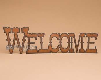 Metal Art Western - Welcome