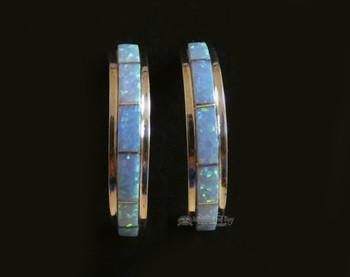 Sterling Silver Earrings - Opal