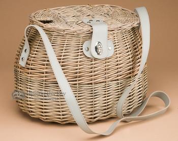 Old Style Oval Creel Fishing Basket