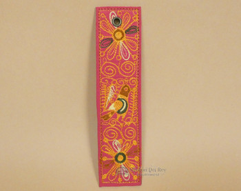 Andean Indian Embroidered Bookmark