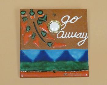 Hand Painted Saltillo Doorbell - Chillis