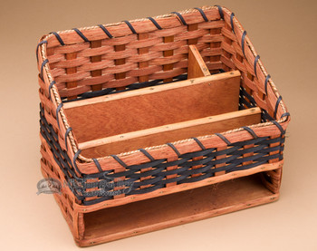 Amish Made Basket - Desk Organizer