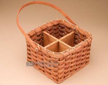 Amish Handmade Basket for Wine