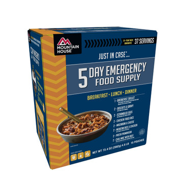 Mountain House 5 Day Emergency Food Kit