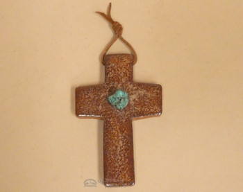 Glazed Saltillo Tile Cross - Southwest