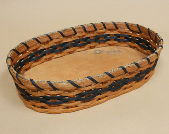 Handmade Amish Tray Basket