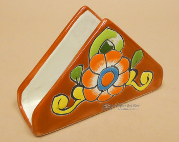 Hand Painted Talavera Napkin Holder