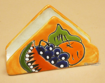 Southwestern Hand Painted Talavera Napkin Holder