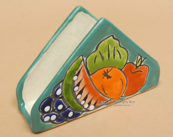 Talavera Hand Painted Napkin Holder