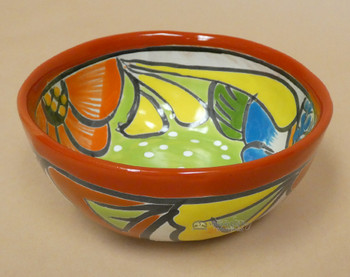 Hand Painted Talavera Mexican Bowl
