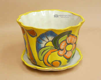 Hand Painted Talavera Planter