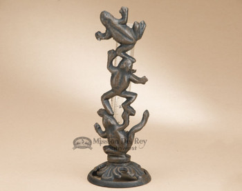Rustic Frogs Cast Iron Rain Catcher