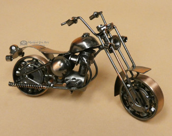 Metal Art Motorcycle - Bronze