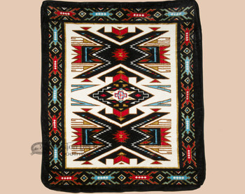 Luxury Plush Southwest Design Blanket -