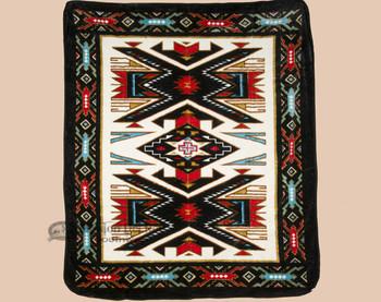 Luxury Plush Southwest Design Blanket -