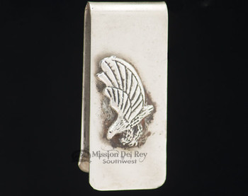 Southwest Navajo Indian Money Clip - Eagle