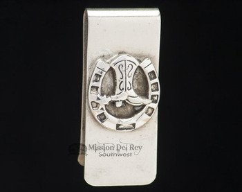 Southwest Navajo Indian Money Clip - Western