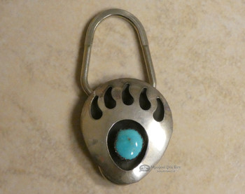 Native American Navajo Key Fob  - Bear Paw