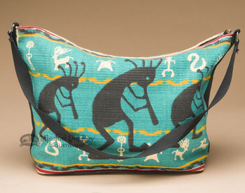 Southwestern Style Cotton Purse - Kokopelli
