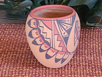 Native American Jemez Indian Pottery Vase