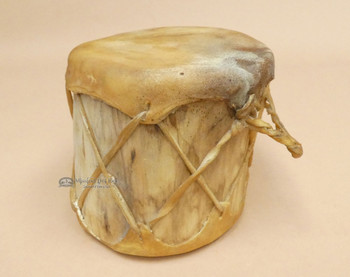 Native Style Rustic Log Drum