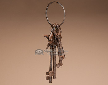 Old Fashioned Western Style Key Ring