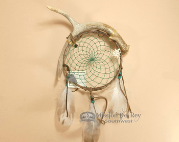 Antler Dreamcatcher -Green Web