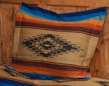 Southwest Pillow Sham -Saltillo Tan