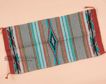 20x40 Southwestern Feather Area Rug -Grey