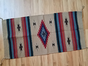 Handwoven Southwestern Fiesta Rug