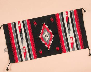 Southwestern Fiesta Rug 20x40 -Black