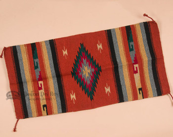 Southwest Zapotec Style Fiesta Area Rug 20x40 -Orange