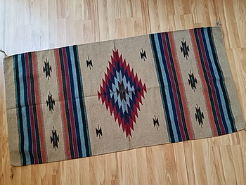 Southwestern Hand Woven Fiesta Rug